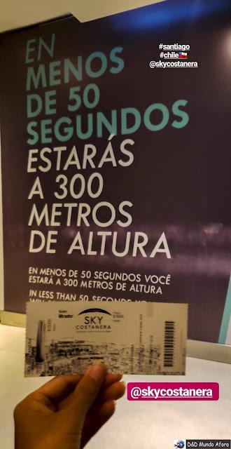 Sky Costanera em Santiago - Diário de Bordo Chile: 8 dias em Santiago e arredores