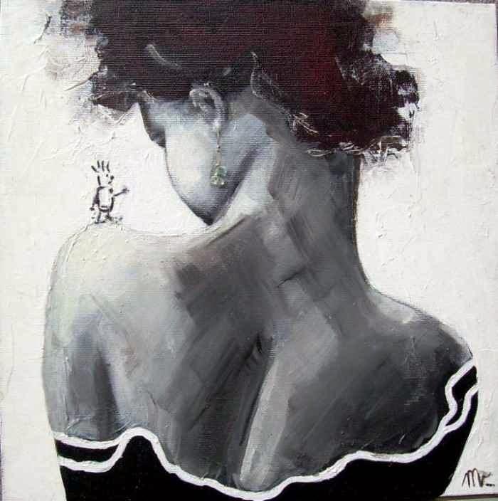 Фигура человека. Michela Banfi