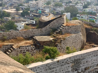 khammam fort view