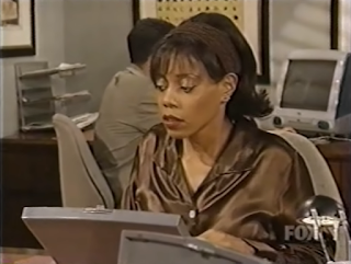24a8af8e97f98d In this sketch that parodies the Herble Essence commercials in the late  90s, she wears a satin blouse twice.