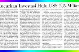 Pertamina Issues Upstream Investment of US $ 2.5 Billion
