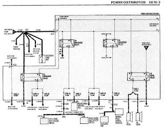 repair-manuals: BMW 635CSi 1989 Electrical Repair