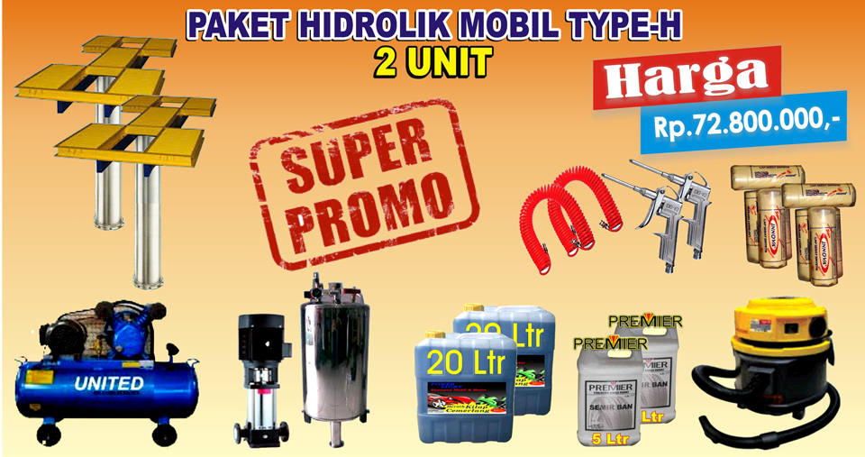 Paket Hidrolik-H (2 Unit)