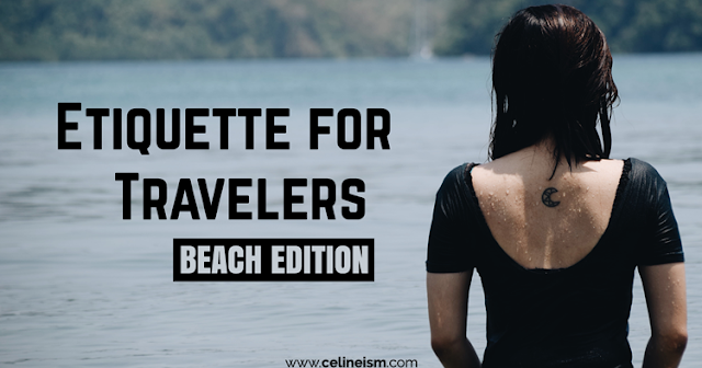 etiquette for travelers beach edition