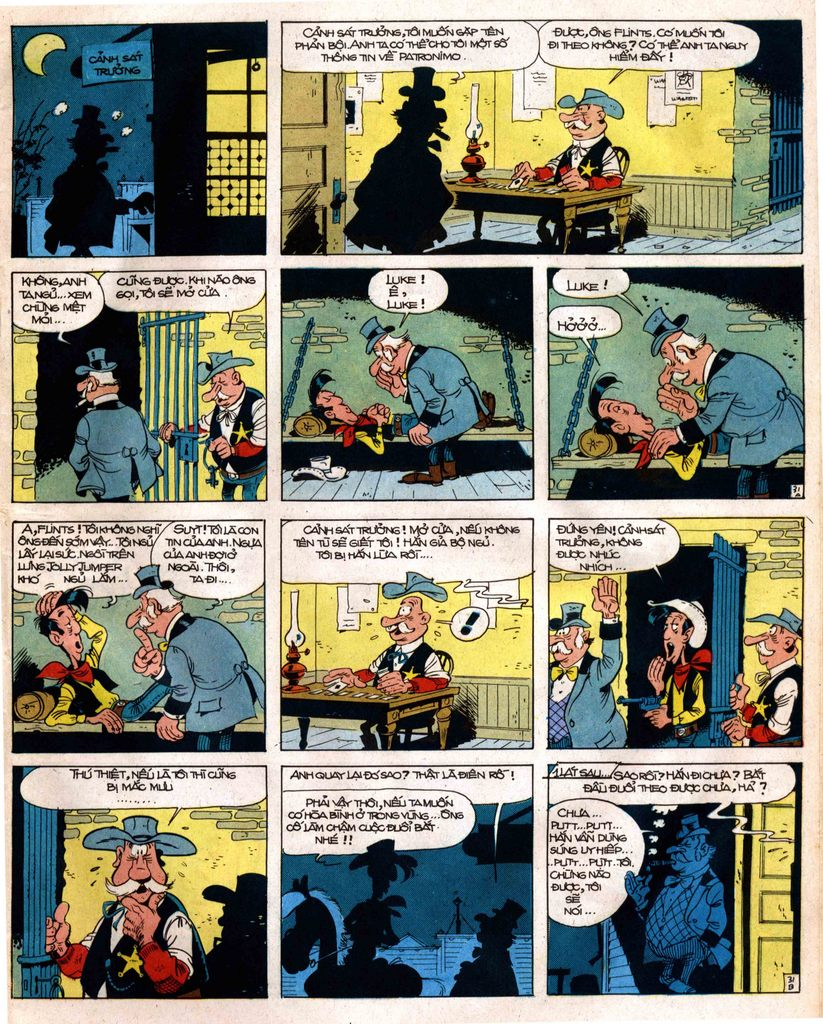 Lucky Luke tap 12 - khe vuc apache trang 31