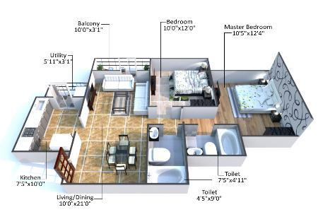 Godrej city panvel floor plan