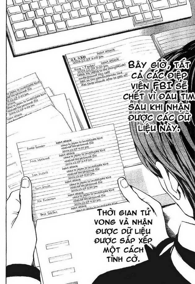 Death Note chapter 009 trang 19