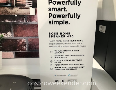 Make your home even smarter with the Bose Home Speaker 450