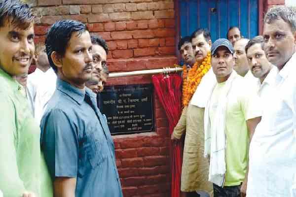 prithla-mla-tekchand-sharma-started-rs-51-lakh-development-work