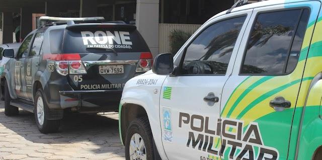 Homem é preso após ameaça à própria mãe na cidade de José de Freitas