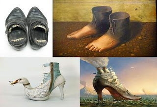 Superstiții pantofi
