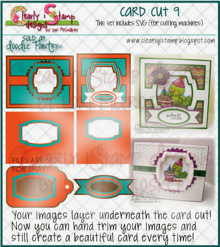 Have you seen my SVG Card Cut File at Doodle Pantry?