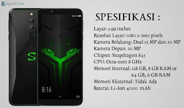 Xiaomi Black Shark ini adalah hasil kolaborasi nya dengan Black Shark teknologi seperti berbagai macam produk Xiaomi yang lain. Meskipun telah memakai prosesor Qualcomm Snapdragon 845. Namun Black Shark mempunyai harga terjangkau dengan begitu, para mobile gamers banyak yang memburunya saat ini.