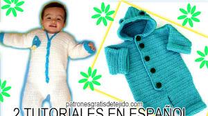 Enterizos para Bebés a Crochet / 2 tutoriales geniales