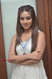 Telugu Actress Anu Emmanuel New Stills in Beautiful White Long Dress  0001.JPG