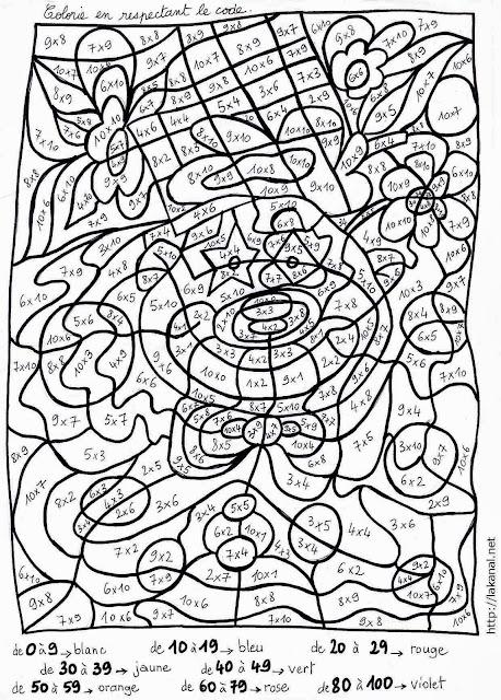 Coloriage Magique Cycle 3 à Imprimer Liberate