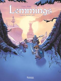 [7BD] Lemmings tome 1 - L'aurore boréale noire