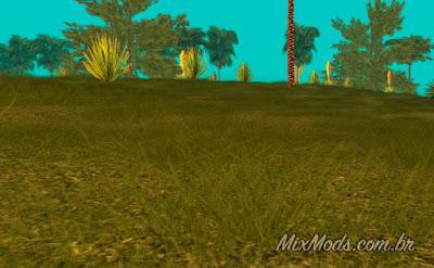 gta sa san mod grama hd grass