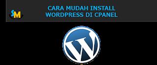 panduan wordpress, tutorial wordpress, Install wordpress