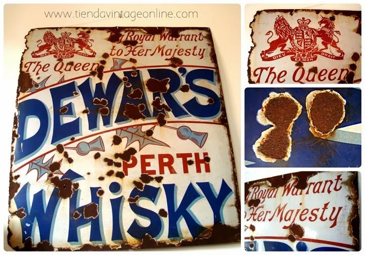 Comprar carteles vintage online para decoración. Anuncios publicitarios.
