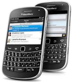BlackBerry perde espaço no mercado dos smartphones.