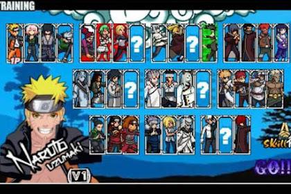 Kumpulan game Naruto Senki MOD android offline ringan