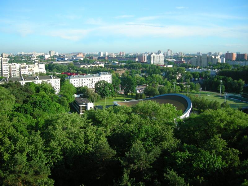 Минск с колеса обозрения