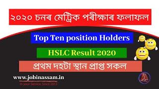 HSLC Result 2020