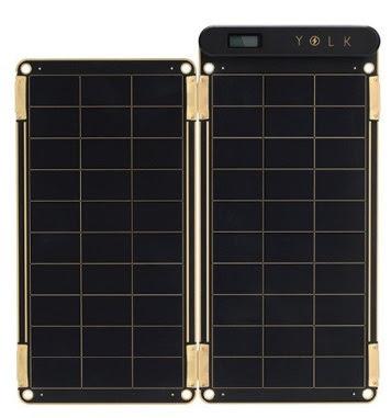 YOLK Solar 太陽能充電器