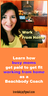 Work from home and get paid to get fit as a Beachbody coach. Brenda Ajay brendalajay@gmail.com
