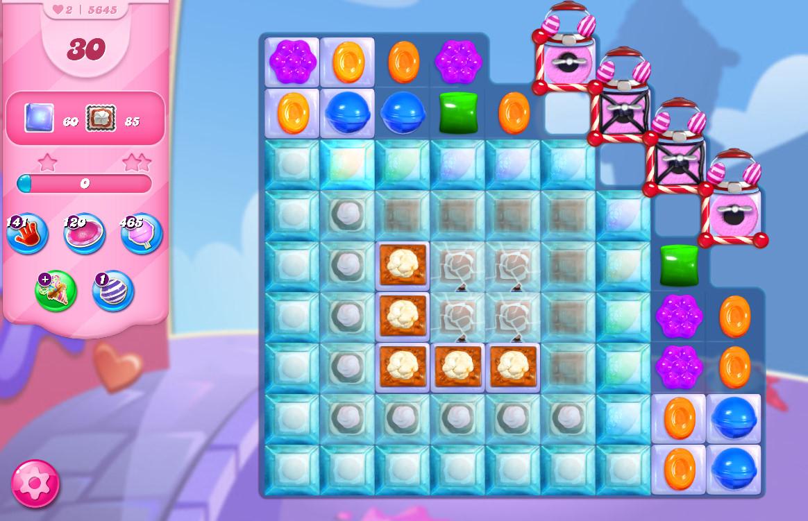 Candy Crush Saga level 5645