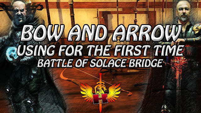 Using A Bow And Arrow For The First Time, Battle Of Solace Bridge, Shroud of the Avatar
