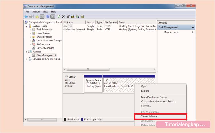 Cara Membagi Partisi Hardisk Tanpa Install Ulang Windows, cara membagi partisi hardisk tanpa kehilangan data, cara mudah membuat partisi pada hardisk wndows, how to split partition hardisk on windows, cara membagi partisi tanpa aplikasi
