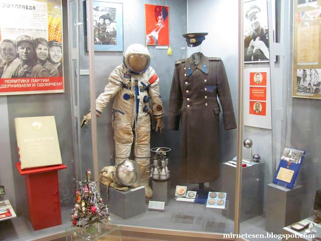 Музей современной истории России: шинель Гагарина