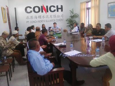 Tampung Aspirasi MLT, PT. CONCH Gelar Forum Kunsultasi dan Sosialisasi