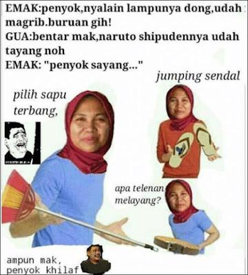 10 Meme 'Nasehat Emak' Ini Lucunya Bikin Ingat Masa Kecil