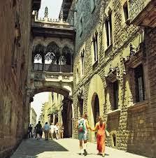 Barrio Gotico kuartal gothic