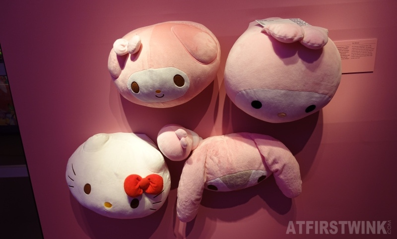 Museum Volkenkunde Cool Japan plushies Hello Kitty