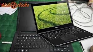 Cara Memperbaiki Layar Hitam Pada Laptop Acer E1 Dilengkapi Gambar