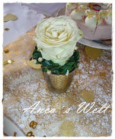 Haha Oldu Dekoration Goldene Hochzeit