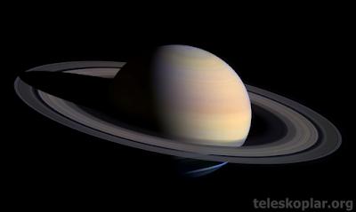 Satürn fotoğrafı