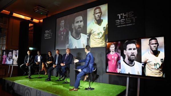 Ronaldo, Messi and Neymar make shortlist of 2017 FIFA Football Awards