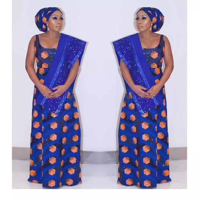 Rita Dominic stuns in traditional attire