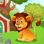 Play Games4King Cute Lion Rescue