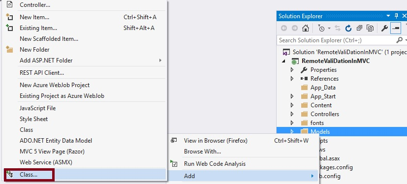 Check UserName Exists or Not instantly In ASP NET MVC