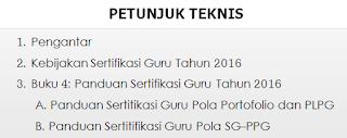 juknis sergur 2016 panduan pedoman ppgj plpg