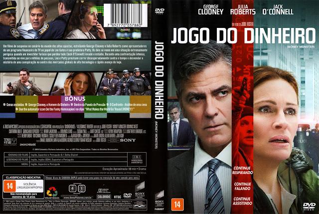 Capa DVD Jogo Do Dinheiro