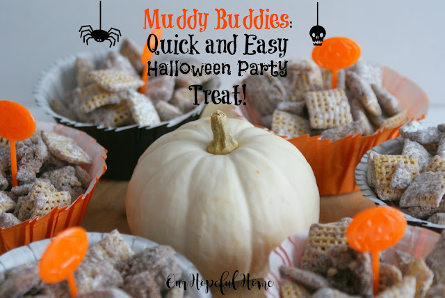 muddy buddie chex mix recipe Halloween party treat