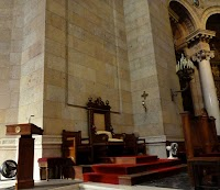 The Restored Cathedra Arrangement of the Cathedral of St. Paul