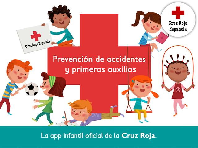 App de Cruz Roja de primeros auxilios para niños